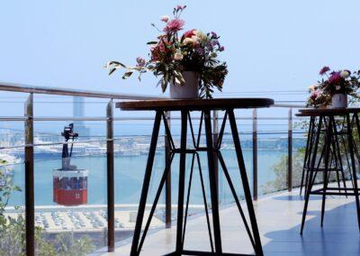 eventos terraza miramar balcon flor